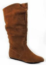 Style&co. Women's Kasee Fashion - Knee-High Tall Boots Tobacco Suede 6.5 (B, M)