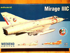 Eduard Weekend edition 1:48 Mirage IIIC AIRCRAFT MODEL KIT
