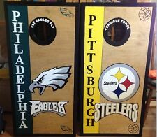 Philadelphia Eagles/Pittsburgh Steelers with free bags