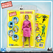 Official DC Comics Ma Kent 8 inch Action Figure on Mego-Like Retro Card