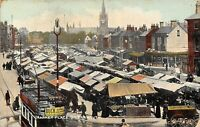 POSTCARD   NORFOLK     GREAT  YARMOUTH   Market  Place