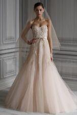 Monique Lhuillier Candy Wedding Dress - Excellent condition! Size 4
