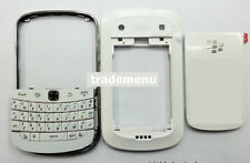White Housing cover faceplate case fascia facia for BlackBerry Bold 9900 9930