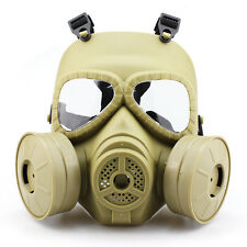 MSA Gas Mask Double Filter Fan CS Edition Perspiration Dust Face Guard Mud