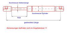 2x Gasdruckfeder/Gasfeder Ford Focus Schrägheck Dämpfer Lifter gas spring