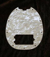 MusicMan Stingray MM4 Pickguard. 4 ply Aged Pearl