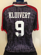 AFC Ajax KLUIVERT 96/97 Away Football Shirt (XL) Soccer Jersey