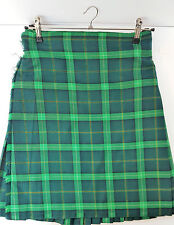 "Ex Hire 44"" waist 26"" drop Celtic  6 Yard Wool Kilt A1 Condition"