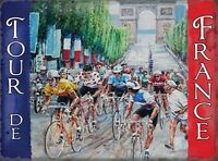 TOUR DE FRANCE BICYCLE CYCLE RACE WALL ART METAL SIGN PLAQUE OTHERS LISTED 479
