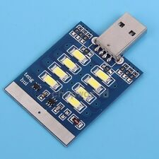 USB Interface Highlight LED Lamp Module With Touch Switch 8pcs LED Board
