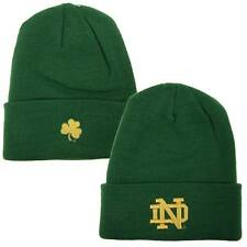 Notre Dame Fighting Irish NCAA One Size Knit Beanie Stocking Hat Cap ND 627007