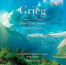 HAKON AUSTBOE - PEER GYNT SUITES/LYRIC PIECES  CD NEU GRIEG,EDVARD HAGERUP