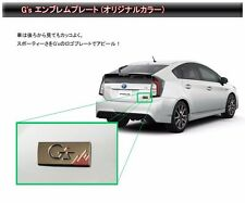 TOYOTA  PRIUS ZVW30 type G's Emblem(For back door) Dealer options from JAPAN