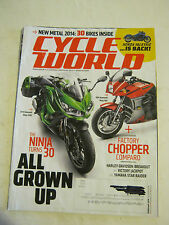 February 2014 Cycle World Magazine - Factory Chpper Comparo (BD-24)