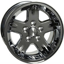 "15"" Wheels For Jeep Grand Cherokee Wrangler 15x8.0 Inch Chrome Rims Set of (4)"