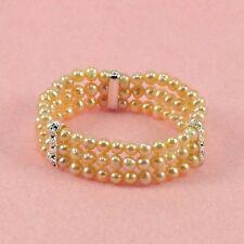 Freshwater Pearl - 7 Inch Elastic Bracelet (FB002)