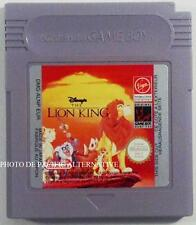 jeu DISNEY LE ROI LION sur nintendo game boy spiel juego gioco the lion king TBE