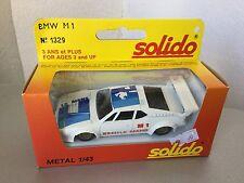 VINTAGE#SOLIDO VINTAGE BMW M1 1329  1:43 Scale #NIB