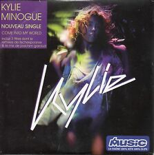 ★☆★ CD SINGLE Kylie MINOGUE Come into my world 3-Track card sleeve RARE FRANCE