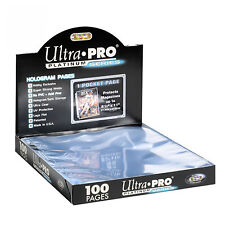 100 ULTRA PRO PLATINUM 1-POCKET Pages 8 1/2 x 11 Sheets Brand New in Box