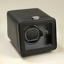 WOLF DESIGN 2.5 Windsor Single Automatic Watch Winder with Cover Black 4525029