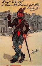 Fantasy: Bank of England, Caricature, Daubes Doubes Signed 1912
