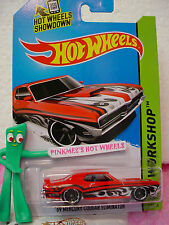 Case N/P 2014 i Hot Wheels '69 MERCURY COUGAR ELIMINATOR 1969 #219 ∞Red; mc5∞