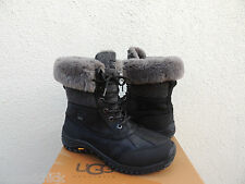 UGG ADIRONDACK II BLACK eVENT WATERPROOF SHEEPSKIN BOOTS , US 11/ EUR 42 ~NIB