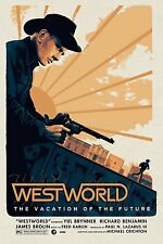 Westworld Rare Alternative Movie Poster by Matt Ferguson No. /55 NT Mondo