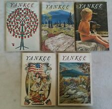 lot of 5 YANKEE New England magazines 1974 - June July August September October