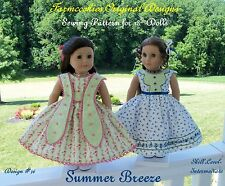 SEWING PATTERN for American Girl Doll by Farmcookies /Summer Breeze
