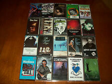 Lot of (20) Classic Rock Cassettes