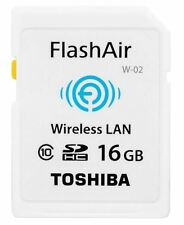 Toshiba FlashAir III 16GB Wireless SD Memory Card W-03 Wi-Fi