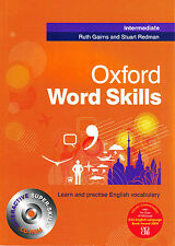 Oxford WORD SKILLS INTERMEDIATE Book w CD-ROM by Ruth Gairns Stuart Redman @NEW@