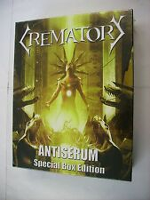 CREMATORY - ANTISERUM - SPECIAL BOX EDITION BRAND NEW SEALED 2014