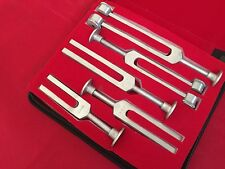Medical TUNNING SET TUNING FORK Diagnostic 5Pcs SET ENT Quality Aliminium