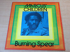 EX-/EX !! Burning Spear/Marcus' Children/1986 LP/Rare Reggae