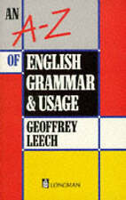 An A-Z of English Grammar and Usage (1st Edition)-ExLibrary