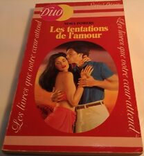Book in French LES TENTATIONS DE L'AMOUR Livre en Francais DUO Serie Desir