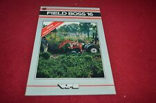 White Oliver Field Boss 16 Tractor Dealer's Brochure YABE10