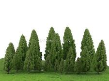 20 Mixed Model Trees Train Railway Architecture Forest Scenery Layout 5-16cm