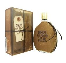 Diesel Fuel For Life Men 4.2 OZ 125 ML Eau De Toilette Spray Nib Sealed