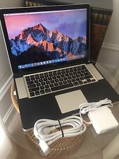 "Maxed Apple MacBook Pro 15"" Laptop, Quad Core i7, 16GB 1TB SSHD USB 3.0!"