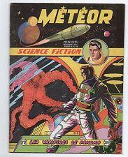 Météor n°37 - Artima 1956 - Giordan. Science-Fiction.
