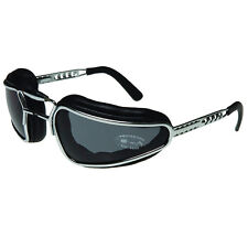 Baruffaldi Easy Rider Goggles In Black with Smoke & Clear Interchangable Lenses