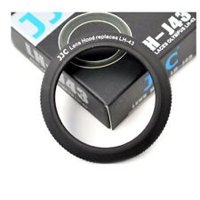 JJC LH-J43 Metal Lens Hood For Olympus 25mm f/2.8 ED Zuiko Lens Replaces LH43 25
