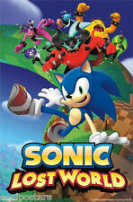 SEGA SONIC THE HEDGEHOG LOST WORLD  22x34 NEW VIDEO GAME POSTER FREE SHIPPING
