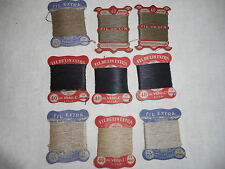 9 X 15 m FIL DE LIN 3 COULEURS Armée FR   9X16 Yard LINEN THREAD French Army