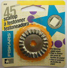 Fiskars 45mm Scallop blade for paper trimmer