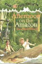#6 MAGIC TREE HOUSE Afternoon on the Amazon NEW Paperback BOOK Mary Pope Osborne